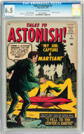 Silver Age (1956-1969):Science Fiction, Tales to Astonish #2 (Marvel, 1959) CGC FN+ 6.5 Cream to off-whitepages....