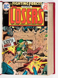 Our Fighting Forces #81-181 Bound Volumes (DC, 1964-78).... (Total: 4 Comic Books)