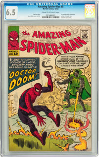 The Amazing Spider-Man #5 (Marvel, 1963) CGC FN+ 6.5 Cream to off-white pages