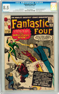 Silver Age (1956-1969):Superhero, Fantastic Four #20 (Marvel, 1963) CGC VF+ 8.5 Off-white to white pages.. ...
