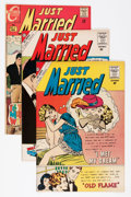 Silver Age (1956-1969):Romance, Just Married Group (Charlton, 1960-76) Condition: Average VF....(Total: 38 Comic Books)
