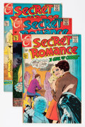 Bronze Age (1970-1979):Romance, Secret Romance Group (Charlton, 1968-80) Condition: Average VF....(Total: 38 Comic Books)