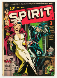 The Spirit #20 (Quality, 1950) Condition: VG