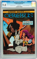 Bronze Age (1970-1979):Alternative/Underground, Cerebus The Aardvark #10 (Aardvark-Vanaheim, 1979) CGC NM/MT 9.8 White pages....