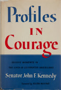 Autographs:U.S. Presidents, John F. Kennedy: Signed Profiles in Courage....