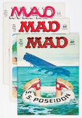 Magazines:Mad, Mad #161-187 Group (EC, 1973-76) Condition: Average Average FN/VF.... (Total: 27 Comic Books)