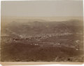 Western Expansion:Goldrush, [California Gold Mining] Possibly the Earliest Bird's Eye View ofRandsburg Looking Northeast in 1897....