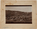 Western Expansion:Goldrush, [California Gold Mining] 1890s Bodie Bird's Eye View Photograph....