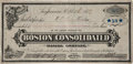 Western Expansion:Goldrush, [California Gold Mining] 1879 Bodie, California Mining StockCertificate Boston Consolidated Mining Company, Location: BodieM...