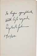 Political:Small Paper (1896-present), Lyndon B. Johnson: Signed Campaign Biography....