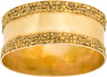 Western Expansion:Goldrush, Gold Nugget Bangle....