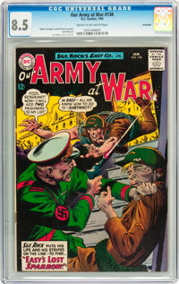 Our Army at War #138 Savannah pedigree (DC, 1964) CGC VF+ 8.5 Cream to off-white pages
