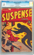 Golden Age (1938-1955):Horror, Suspense Comics #2 (Continental Magazines, 1944) CGC PR 0.5Off-white pages....