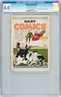 Platinum Age (1897-1937):Miscellaneous, Daisy Comics #nn (Eastern Color, 1936) CGC VG 4.0 Cream tooff-white pages....