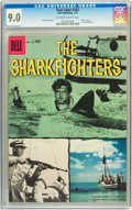 Silver Age (1956-1969):Adventure, Four Color #762 The Sharkfighters (Dell, 1957) CGC VF/NM 9.0 Off-white to white pages....
