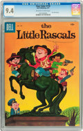 Silver Age (1956-1969):Humor, Four Color #778 The Little Rascals (Dell, 1957) CGC NM 9.4 Off-white to white pages....