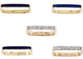 Estate Jewelry:Rings, Diamond, Enamel, Gold Rings. ...