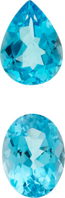 Unmounted Blue Topaz