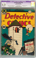 Golden Age (1938-1955):Superhero, Detective Comics #68 (DC, 1942) CGC Apparent FN 6.0 Slight (P) Off-white to white pages....
