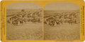 Photography:Signed, Custer In The Black Hills: A Scarce Stereo View Card by W. B. Illingworth, St. Paul, Minnesota. ...