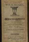 Miscellaneous:Ephemera, Important First Edition 1879 Montana Business Directory....