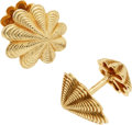 Estate Jewelry:Cufflinks, Gold Cuff Links, Schlumberger, Tiffany & Co.. ...