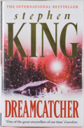 Books:Horror & Supernatural, Stephen King. Dreamcatcher. [London]: Hodder &Stoughton, [2001]. First edition, first printing. Octavo. 599pages. ...
