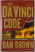 Books:Mystery & Detective Fiction, Dan Brown. The Da Vinci Code. New York: Doubleday, [2003].First edition, first printing. Octavo. 454 pages. Publish...