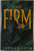 Books:Mystery & Detective Fiction, John Grisham. The Firm. New York: Doubleday, [1991]. Firstedition, first printing. Octavo. 421 pages. Publisher's b...