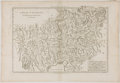 Antiques:Posters & Prints, [Rigobert] Bonne. Copper Engraved Map of Austria. Paris: [ca.1787]. Measures 11.5 x 16.5 inches. Minor toning and foxing to...