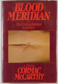 Books:Literature 1900-up, Cormac McCarthy. Blood Meridian. New York: Random House,[1985]. First edition, first printing. Octavo. 337 pages. P...