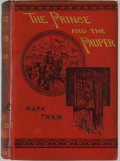 Books:Literature 1900-up, Mark Twain. The Prince and the Pauper. London: Chatto &Windus, 1881. First edition with publisher's catalog dated N...