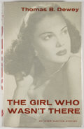 Books:Mystery & Detective Fiction, Thomas B. Dewey. The Girl Who Wasn't There. New York: Simonand Schuster, 1960. First edition, first printing. Octav...