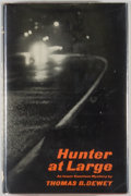 Books:Mystery & Detective Fiction, Thomas B. Dewey. Hunter at Large. New York: Simon andSchuster, 1961. First edition, first printing. Octavo. 215...