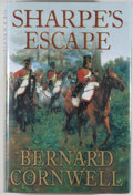 Books:Literature 1900-up, Bernard Cornwell. SIGNED. Sharpe's Escape. [London]:HarperCollins, [2004]. First edition, first printing. Sig...
