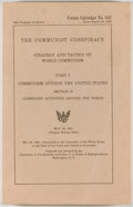 Books:Americana & American History, The Communist Conspiracy: Strategy and Tactics of WorldCommunism. Part I: Communism Outside the United States. Section D:C...