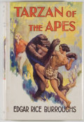 Books:Science Fiction & Fantasy, [Jerry Weist]. Edgar Rice Burroughs. Tarzan of the Apes. London: Methuen, [1957]. Later edition. Octavo. 256 pages. ...