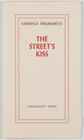 Books:Literature 1900-up, Lawrence Ferlinghetti. SIGNED/LIMITED. The Street's Kiss. [Boise]:Limberlost Press, 1998. First edition, one of 750 print...