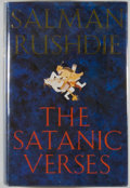 Books:Fiction, Salman Rushdie. The Satanic Verses. [London]: Viking,[1988]. First edition. Octavo. 546 pages. Publisher's binding,...