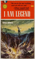 Books:Science Fiction & Fantasy, Richard Matheson. SIGNED. I Am Legend. New York: Gold MedalBooks/Fawcett Publications [1954]. First edition, fi...