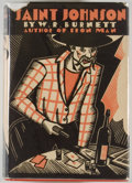 Books:First Editions, W. R. Burnett. Saint Johnson. New York: The Dial Press,1930. First edition. Octavo. 305 pages. Publisher's red ...