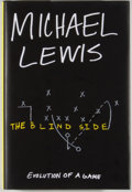 Books:Biography & Memoir, Michael Lewis. SIGNED. The Blind Side. New York: Norton, [2006]. First edition. Signed by the author on the ti...