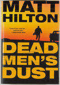 Books:Mystery & Detective Fiction, Matt Hilton. Dead Man's Dust. [New York]: William Morrow,[2009]. First edition of the author's first book. Octa...