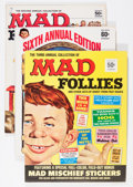 Magazines:Mad, Mad Follies #2, 3, and 6 Group (EC, 1964-68).... (Total: 3 Comic Books)