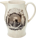 Political:3D & Other Display (pre-1896), George Washington: Long Live the President Jug....