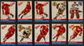 Hockey Cards:Lots, 1954 Topps and 1977 Topps Hockey Collection (300+). ...