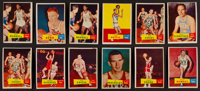 1957 Topps basketball Collection (109) With Two Russell Rookies!