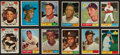 Baseball Cards:Sets, 1961 Topps Baseball Partial Set (435). ...