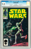 Modern Age (1980-Present):Science Fiction, Star Wars #98 (Marvel, 1985) CGC NM/MT 9.8 White pages....