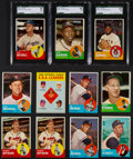 Baseball Cards:Lots, 1963 Topps Baseball Collection (312) With Many Stars. ...